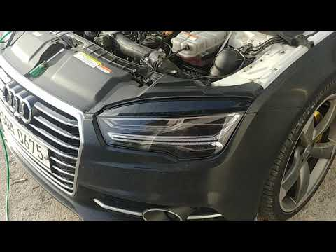 Audi a7 55 tdi brown gas carbon cleaning