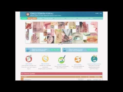 Ankara University Turkish Education Portal Presentation Video