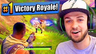 connectYoutube - OMG - MY FIRST #1 FINISH! - Fortnite: Battle Royale