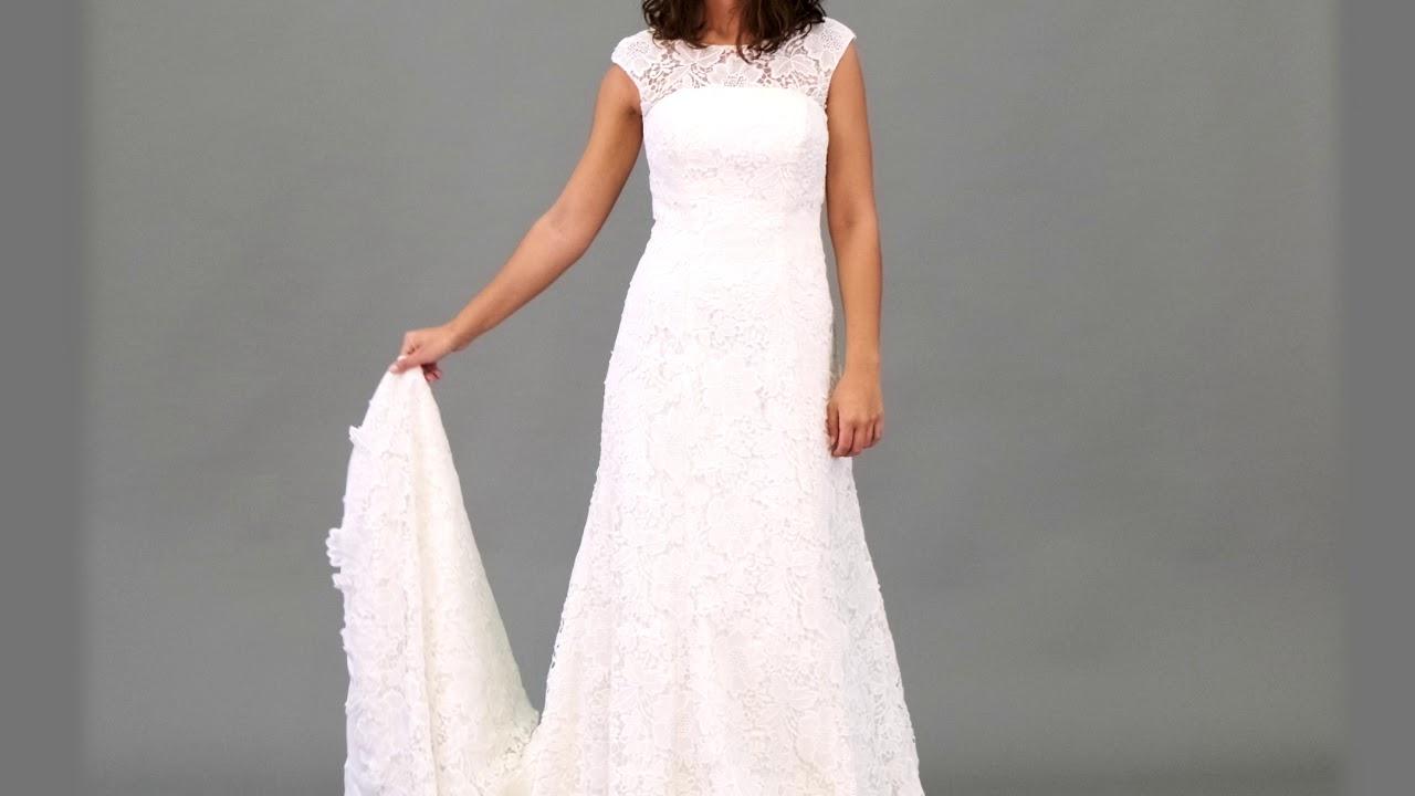 Brautkleid Hochzeitskleid Brautmode - YouTube