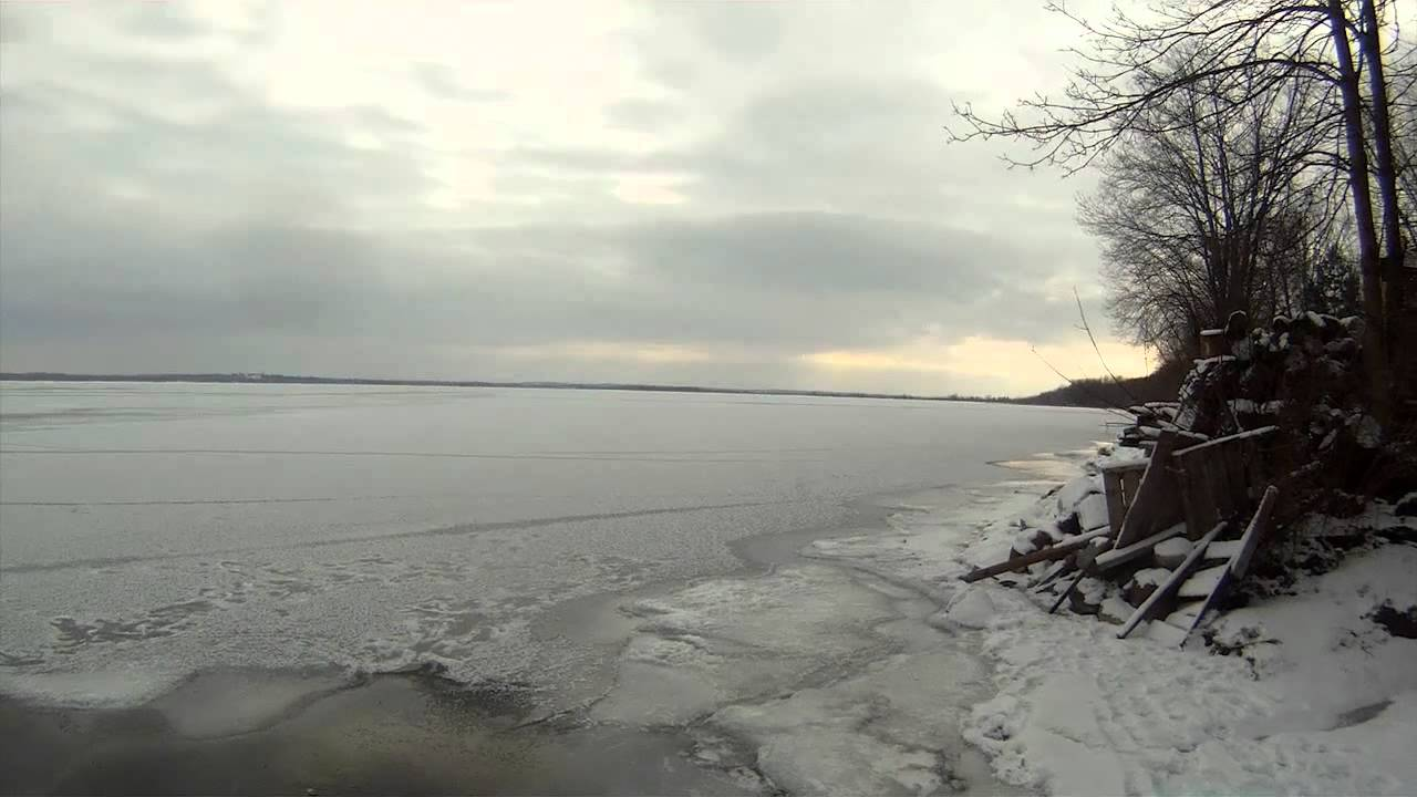 Lake simcoe cook 39 s bay ice report jan 4 2012 youtube for Lake simcoe fishing report