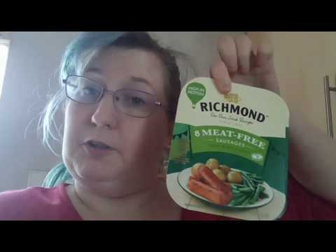 !! New!! Richmond Meatfree Sausages, first impressions and taste test/review