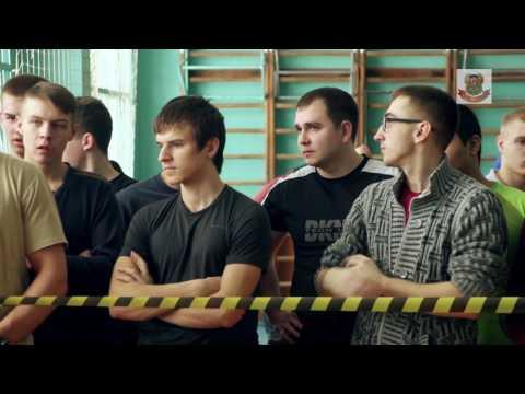Спартакиада среди кадетских школ Брянской области - 2016
