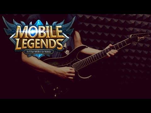 Mobile Legends Rock Version Cover / Remix - Soundtrack Music Menu Guitar Cover