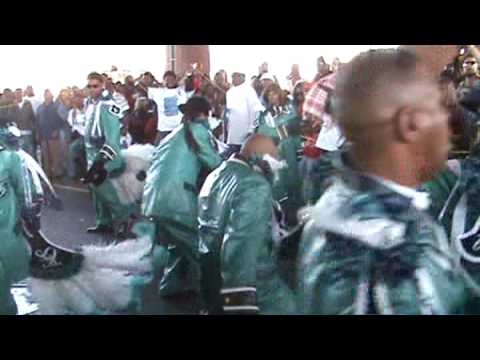 TREME SIDEWALK STEPPERS SECOND LINE 2009 - Under the Claiborne Bridge