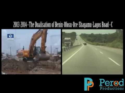 The Dualisation of Benin-Ofosu-Ore-Shagamu-Lagos Road--C