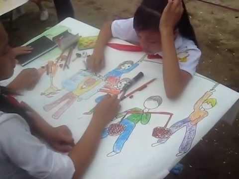 Trại Hè Xã Hải Lộc 2012-Thi Vẽ Tranh-Family Thắng Hùng