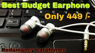 Best Budget Earphones under 500 | Redamancy 6T 32A Earphones | Extra Bass
