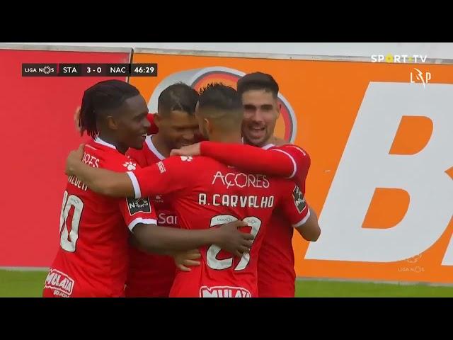 Goal | Golo Rui Costa: Santa Clara (3)-0 CD Nacional (Liga 20/21 #26)