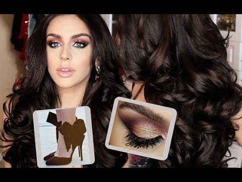 Get ready with me big fluffy curls makeup outfit youtube get ready with me big fluffy curls makeup outfit carli bybel pmusecretfo Choice Image
