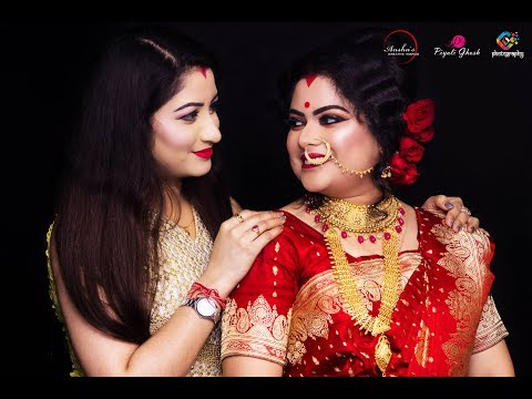 Traditional Indian Festive Saree Makeup 2018 | Piyali Ghosh |