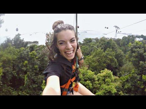 Sentosa Island • Singapore Vlog #2