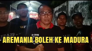 Download Video PRESIDEN K-COK MANIA PERSILAHKAN AREMANIA DATANG DENGAN SYARAT!! MADURA UNITED VS AREMA MP3 3GP MP4