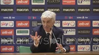 Lazio-Atalanta, Gasperini:
