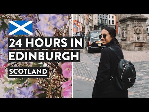 Edinburgh In A Day - Tasting Haggis & Edinburgh Castle | Scotland Travel Vlog  [Ad]