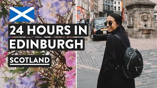 Edinburgh In A Day - Tasting Haggis & Edinburgh Castle | Scotland Travel Vlog  [Ad]