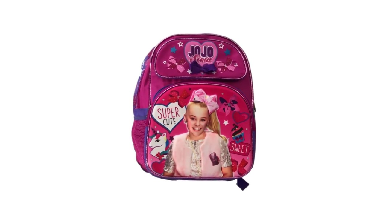 JoJo Siwa 16 inches Large Backpack