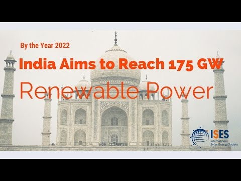 Webinar: 175 GW of Renewable Power, Including Addition of 100 GW Solar in India by the Year