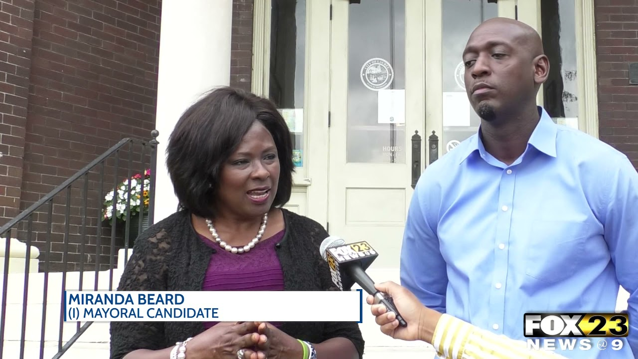 Comegys supports Beard's mayoral campaign in Laurel