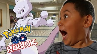 OMG!!! ITS MEWTWO!!! Roblox Pokemon GO (ROBLOX) Gameplay part 5