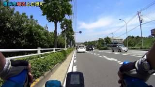 SONY HDR-AS10(SONY HDR-AS15)によるロードバイクによる自転車、車載...