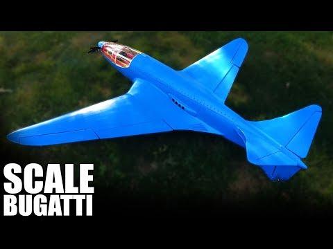 HOMEBUILT FLYING MODEL BUGATTI | Flite Test