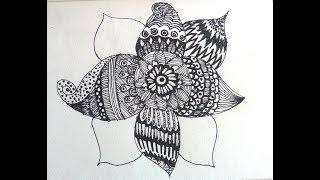 Mandala çizimi / мандала / ماندالا
