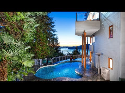 168 Sunset Drive, West Vancouver // Luxury Property with Views and Pool