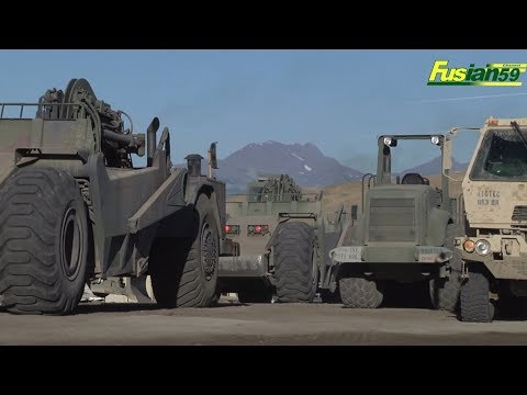 Sophisticated Heavy Equipment Owned By The U.S. Army Corp Of Engineers, U.S. Military