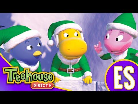 Los Backyardigans: Los duendes de acción salvan la noche buena | HD Episodios Para Niños - Ep.70
