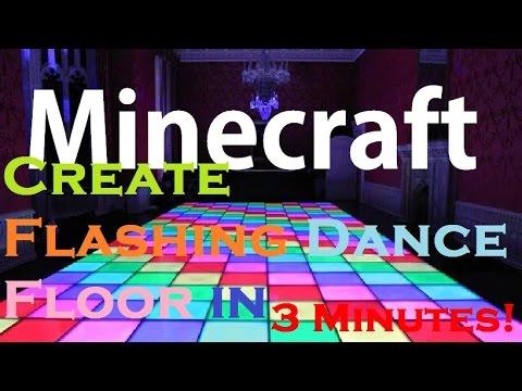 How To Build A Dance Floor In Minecraft