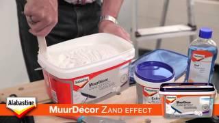 Bullstore - Instructievideo Alabastine MuurDecor zand effect