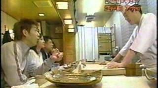 浅草の「鮨 一新」です。赤酢を使った自信の酢飯、マグロのヅケ、煮はま...
