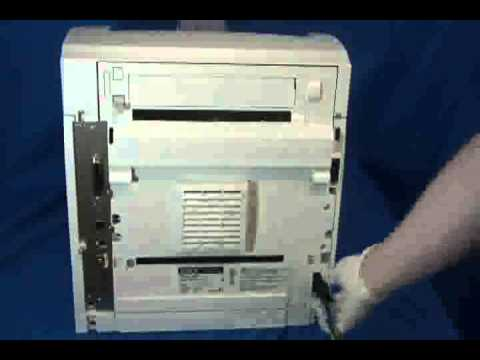Xerox Phaser 4500 or 4510 Blank Display, Garbled ...