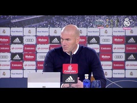 Rueda de prensa post partido | Zidane | Real Madrid 2-1 Málaga | Liga | Jornada 19