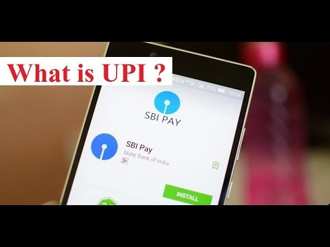 UPI - Unified Payments Interface - SBI Pay