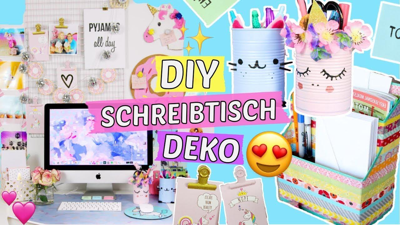 Diy Schreibtisch Makeover 5 Pinterest Deko Diys Selber Machen