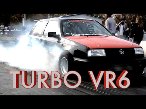 INSANE Turbo VR6 Powered VW's in the 8's!