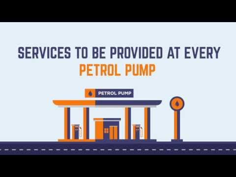 Services to be provided at every Petrol Pump free of cost