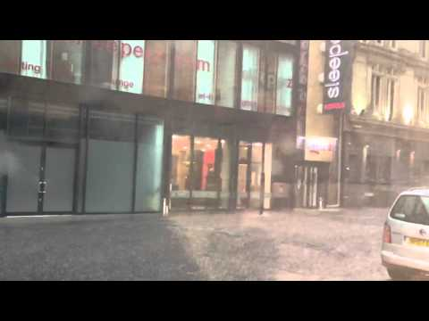 Newcastle Flood 28 June 2012