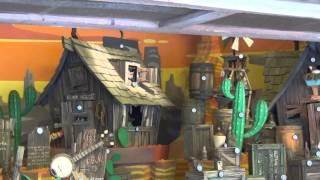 2014 Disneyland Paris Rustler Roundup Shootin' Gallery at Frontierland HD