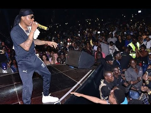 WIZKID LIVE IN UGANDA PERFORMANCE