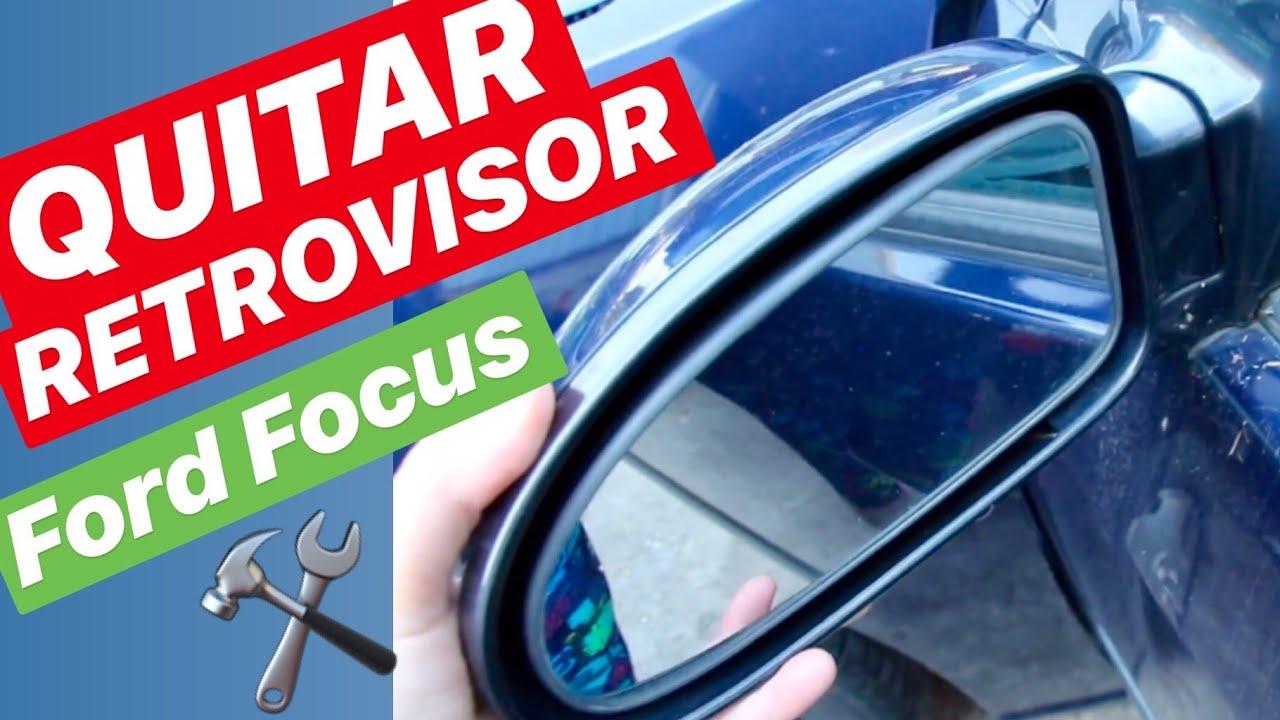 98=/>04 Derecho Copiloto Térmico Espejo cristal retrovisor Ford Focus