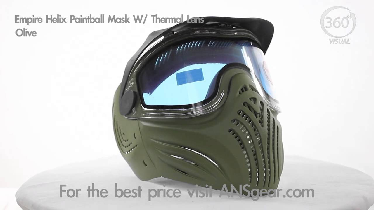 Paintball Masque Empire Helix thermal-Olive