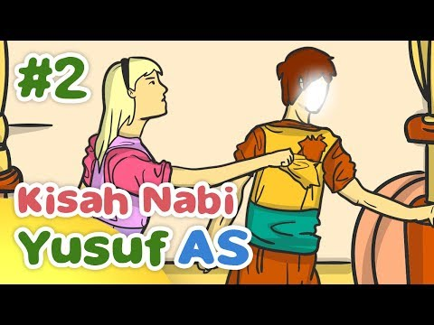 Kisah Nabi Yusuf AS Digoda Zulaiha Istri Qitfir - Kartun Anak Muslim Indonesia