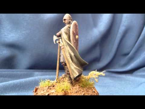 """Romeo Models """"Anglo-Saxon Huscarl at the Battle of Hastings 1066"""" in 54mm scale"""