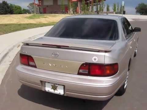 1996 Toyota Camry Youtube