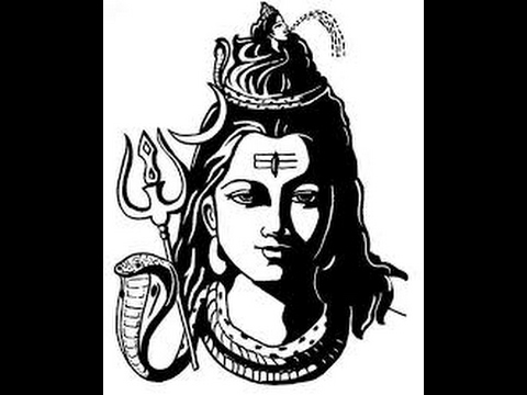 How to draw lord shiva face pencil drawing step by step youtube