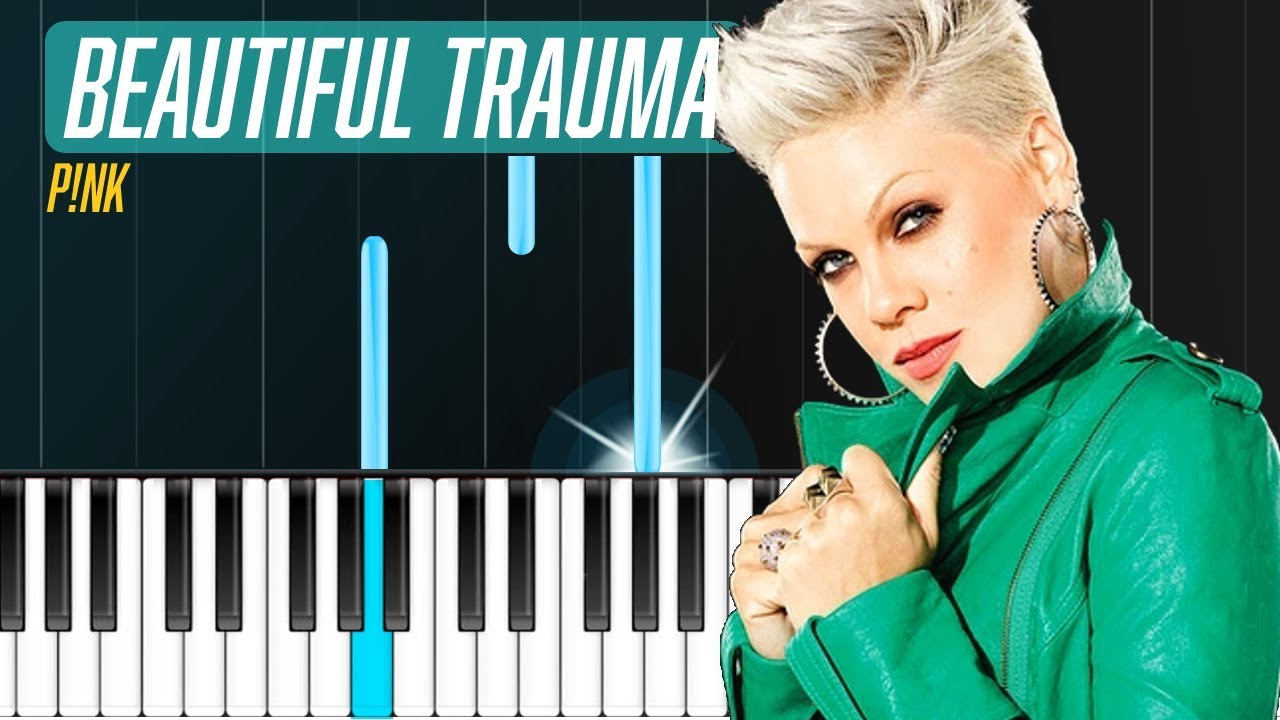 Pink Beautiful Trauma Piano Tutorial Chords How To Play Cover