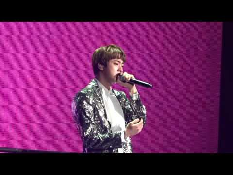 170402 BTS The Wings Tour in Anaheim Day 2 - Awake (Jin Solo)